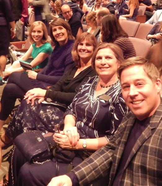Jill Townsend, Clarissa Palhegyi, Lori Toothacre, Susan Farese, and Neal Hyde